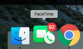 I do NOT have that many unanswered Facetime calls!